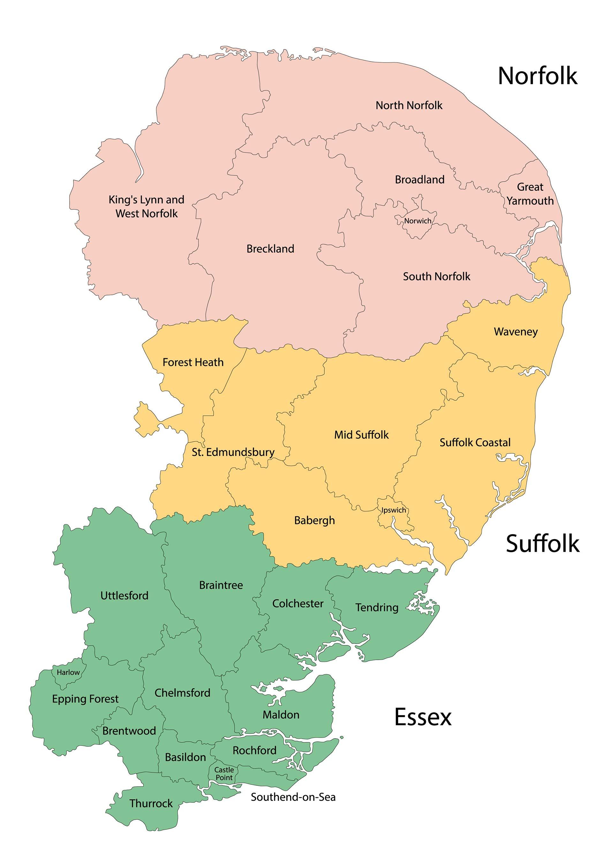 NorfolksuffolkEssex